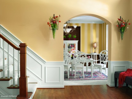 How to Paint a Striped Pattern on Your Wall | Painting Stripes ...