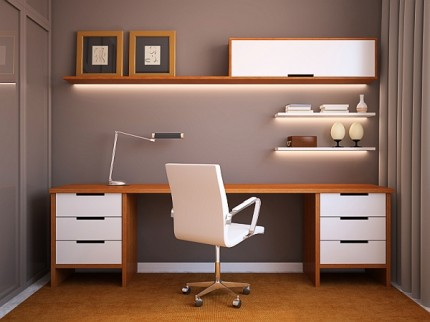 Fine Tips For Creating A Productive Home Office How To Decorate Your Largest Home Design Picture Inspirations Pitcheantrous