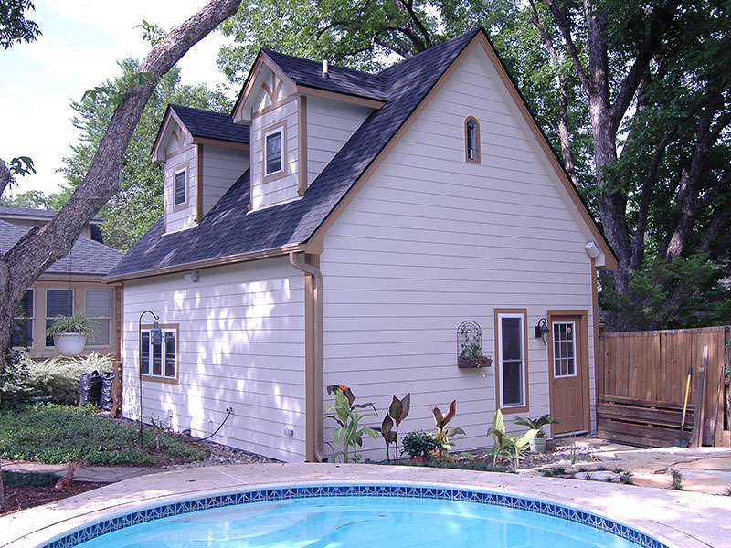 Converting your garage diy pool house for Garage pool house